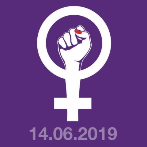 Frauen*streik Symbol 14.06.2019