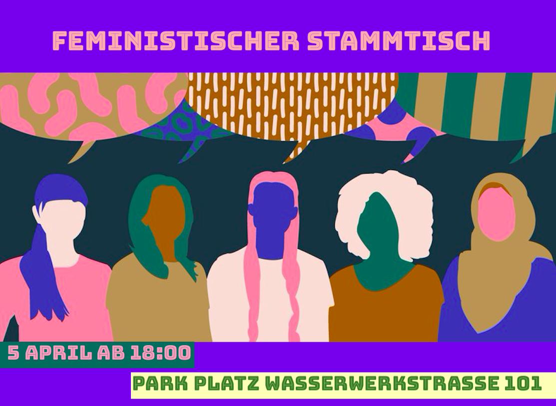 2. feministischer Stammtisch am 05.04.2019