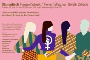 Stammtisch Frauen*streik / Feministischer Streik Zürich @ Park Platz