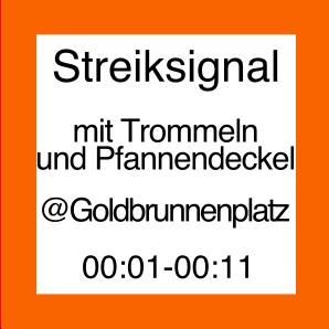 Icon zur Veranstaltung Streiksignal