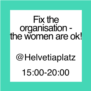 "Icon zur Aktion ""Fix the Organisation - Women are ok!"