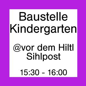 Baustelle Kindergarten