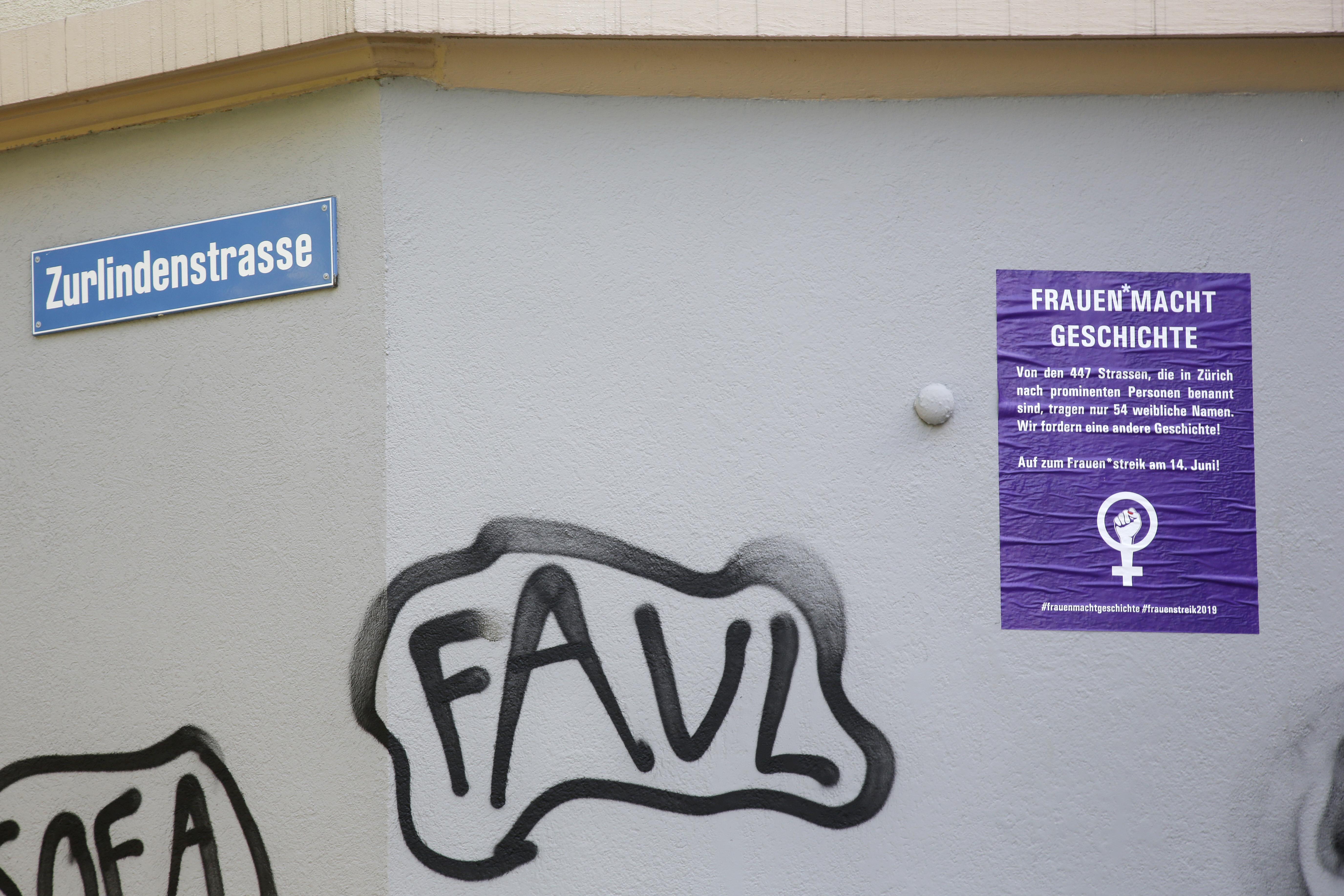 """Foto zur Aktion """"Frauen macht Geschicte"""""""