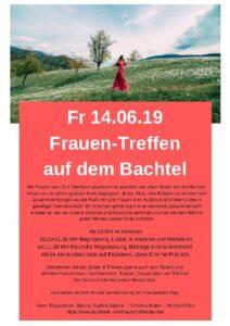Jahresprogramm - Frauenbund Hildisrieden