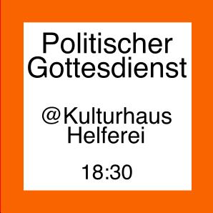 Icon zum politischen Gottesdienst
