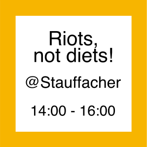 Icon zur Aktion Riots not Diets