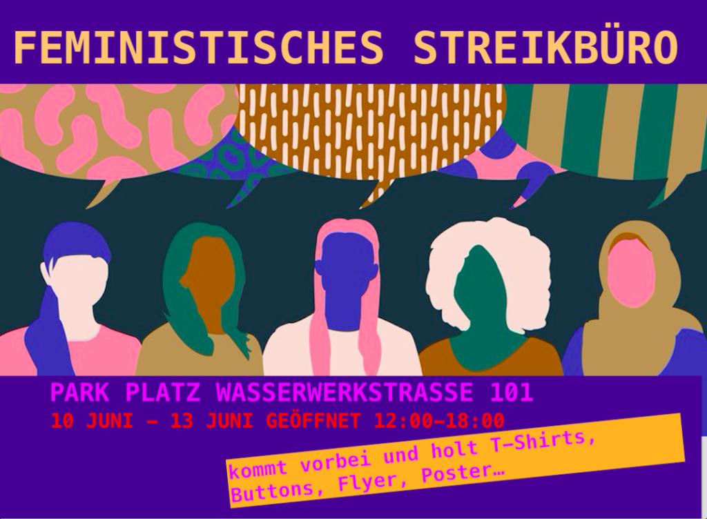 Flyer Streikbüro