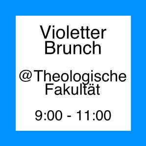 Icon zum Violetten Brunch in der Theologischen Fakultät