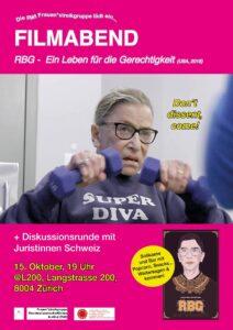 Filmabend: RBG - Ein Leben für die Gerechtigkeit @ L200