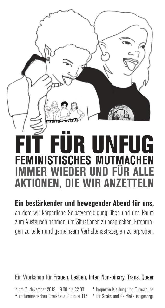 Feministisches Mutmachen