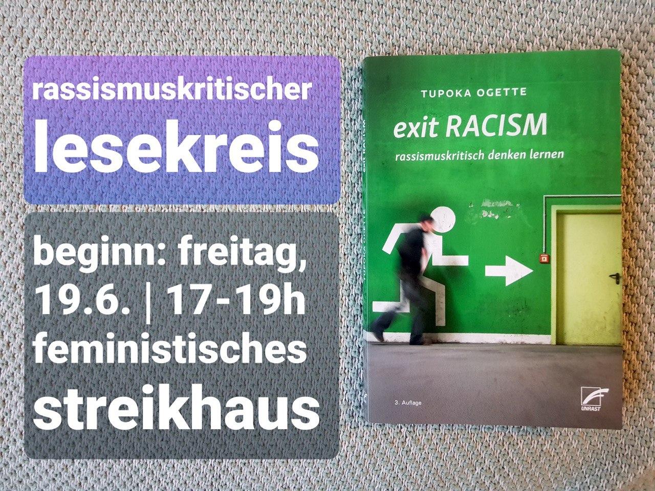 Titelbild von Buch Exit Racism